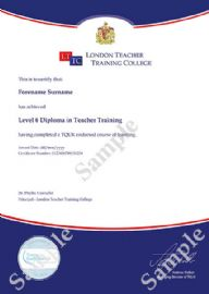 Diploma in Teacher Training